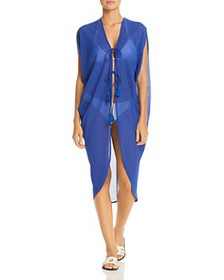 Echo - Cowl Side Swim Cover-Up