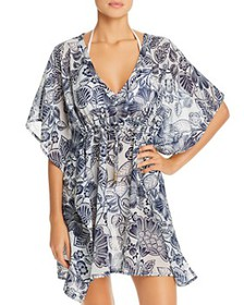 Echo - Floral Silky Butterfly Cover-Up