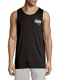 PUMA Graphic Logo Tank Top PUMA BLACK