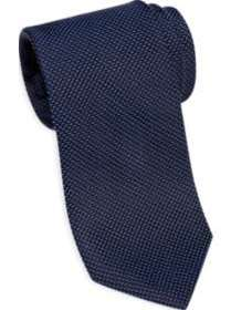 Awearness Kenneth Cole Navy Tic Narrow Tie
