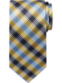 Tommy Hilfiger Blue & Yellow Check Narrow Tie