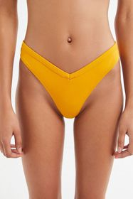 Out From Under V-Shape Yellow Bikini Bottom