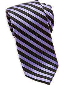 Egara Purple Stripe Skinny Tie