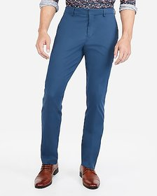 Express slim performance stretch easy care cotton