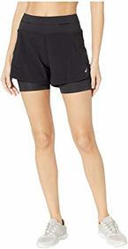 "ASICS I Move Me 2in1 4"" Shorts"