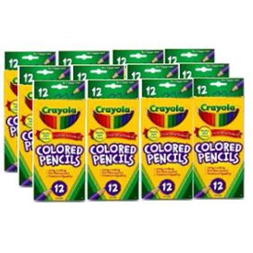 Crayola 12 Count Colored Pencils, 12 Packs