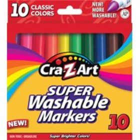 Cra-Z-Art Washable Markers, 10 Count