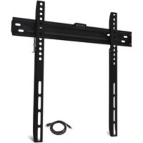 """ONN Low-Profile, Universal Wall Mount for 19"""" to 6"""