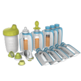 Kiinde Foodii Squeeze Snack Filling & Feeding Syst