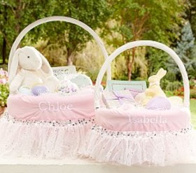 Pottery Barn Sequin Easter Basket Liners