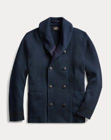 Ralph Lauren Indigo Cotton Cardigan