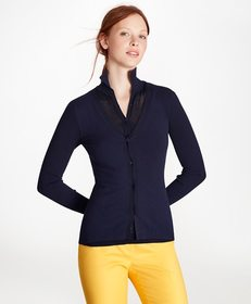 Brooks Brothers Cotton-Blend Pointelle Two-in-One