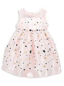 My Princess Wear Little Girl's Star-Printed Bow Dr