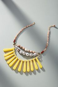 Anthropologie Mona Bib Necklace