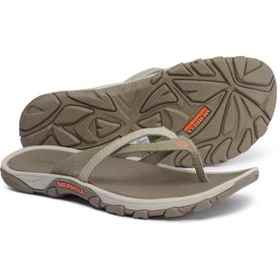 Merrell Enoki Flip-Flops (For Women) in Brown