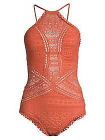 Becca by Rebecca Virtue One-Piece Color Play Highn