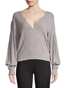 Free People Dreamgirl Top GREY