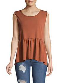 Free People Anytime Tank CINNAMON