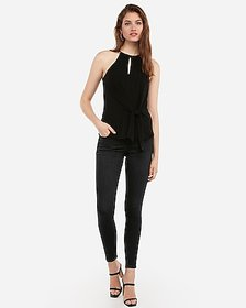 Express side tie cut-out cami