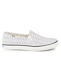Keds Double Decker Striped Sneakers CREAM