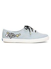 Keds Champion Canvas Sneakers LIGHT BLUE