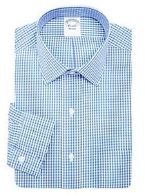 Brooks Brothers Classic-Fit Non-Iron Gingham Stret