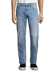 7 For All Mankind Slimmy Straight-Fit Jeans CONQUI