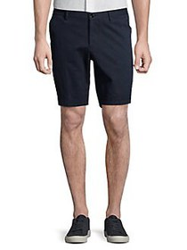 BOSS Solid Stretch Shorts NAVY