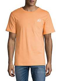 SURFSIDESUPPLY Graphic Pocket Tee CANTELOUPE
