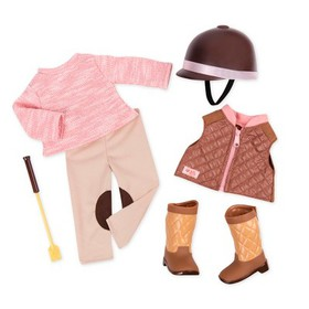 Our Generation Deluxe Riding Outfit - Riding in St