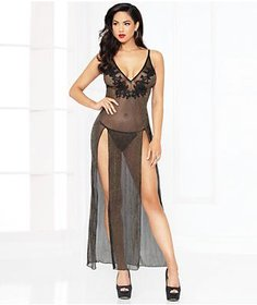 Seven 'til Midnight All That Glitters Gown Set