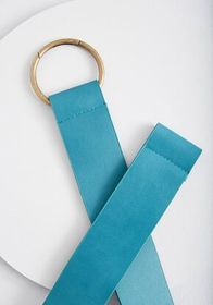 Has a Nice Ring Stretch Belt teal