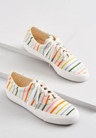 Keds Keds Anchor Happy Stripe Sneaker Multi