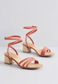 Lifted Spirit Strappy Heel CLAY