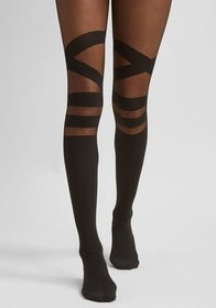 Strappy to Be Here Tights Black