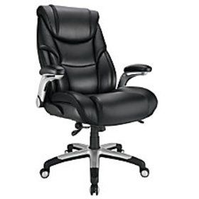 Realspace Torval Bonded Leather High Back