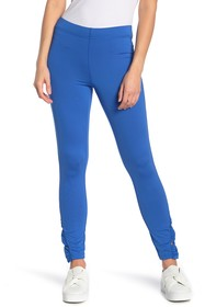 HUE Pyramid Ruched Skimmer Leggings