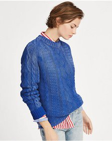 Ralph Lauren Cable Cotton Sweater