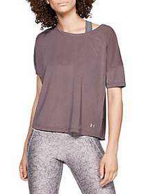 Under Armour Sport Mesh Cropped T-Shirt ASH