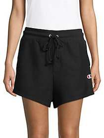 Champion Reverse Weave Cotton Blend Shorts BLACK