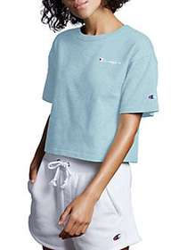 Champion Cropped Tee ACTIVE BLUE