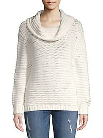 Finders Keepers Amour Weekend Knit Cowlneck Pullov