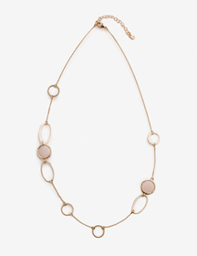 Boden Semi-precious Shapes Necklace