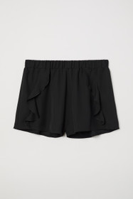 Ruffle-trimmed Shorts