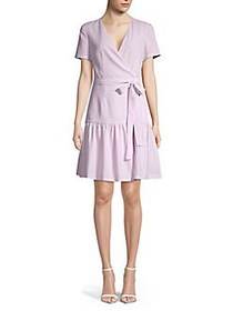 French Connection Floral A-Line Dress LAVENDER