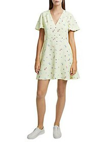 French Connection Frida Armoise Printed Fit-&-Flar