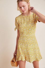 Anthropologie Faithfull Marguerite Mini Dress