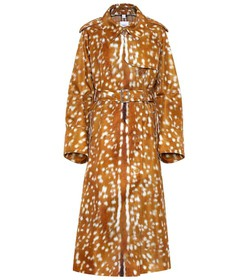 Burberry Printed trench coat