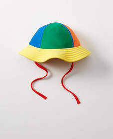 Hanna Andersson Sunblock Swim Hat in Multi - main