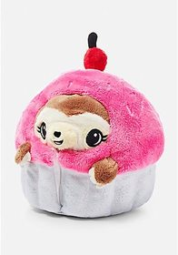 Justice Undercover Cupcake Sloth Squishable